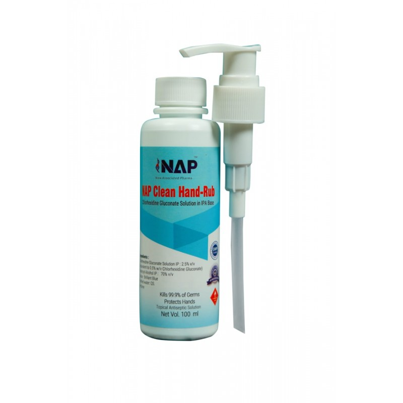NAP Clean Hand-Rub  100ml