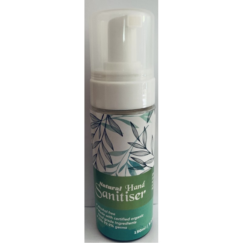 NATURAL HAND SANITISER 150ml