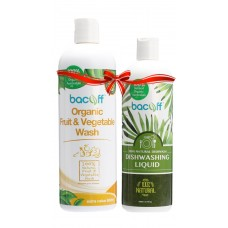 FRUIT & VEGETABLE WASH + DISHWASHING LIQUID
