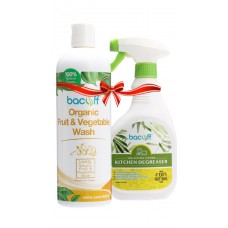 FRUIT & VEGETABLE WASH + KITCHEN DEGREASER