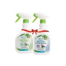PET ALL PURPOSE CLEANER + PET AREA SANITISING DEODORISER